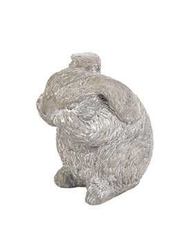 Bunny scratching nose statue For Sale | Shop Stuart's