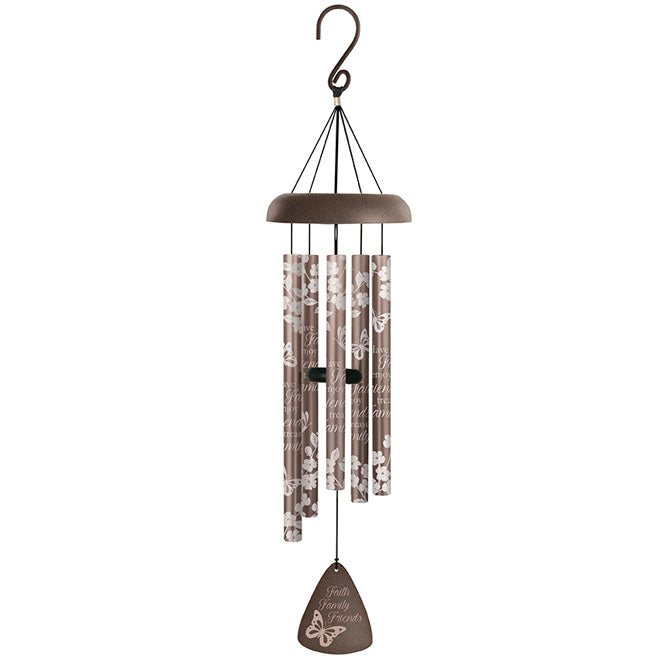"Wind Chime-""Faith Family & Friends"" By Carson"