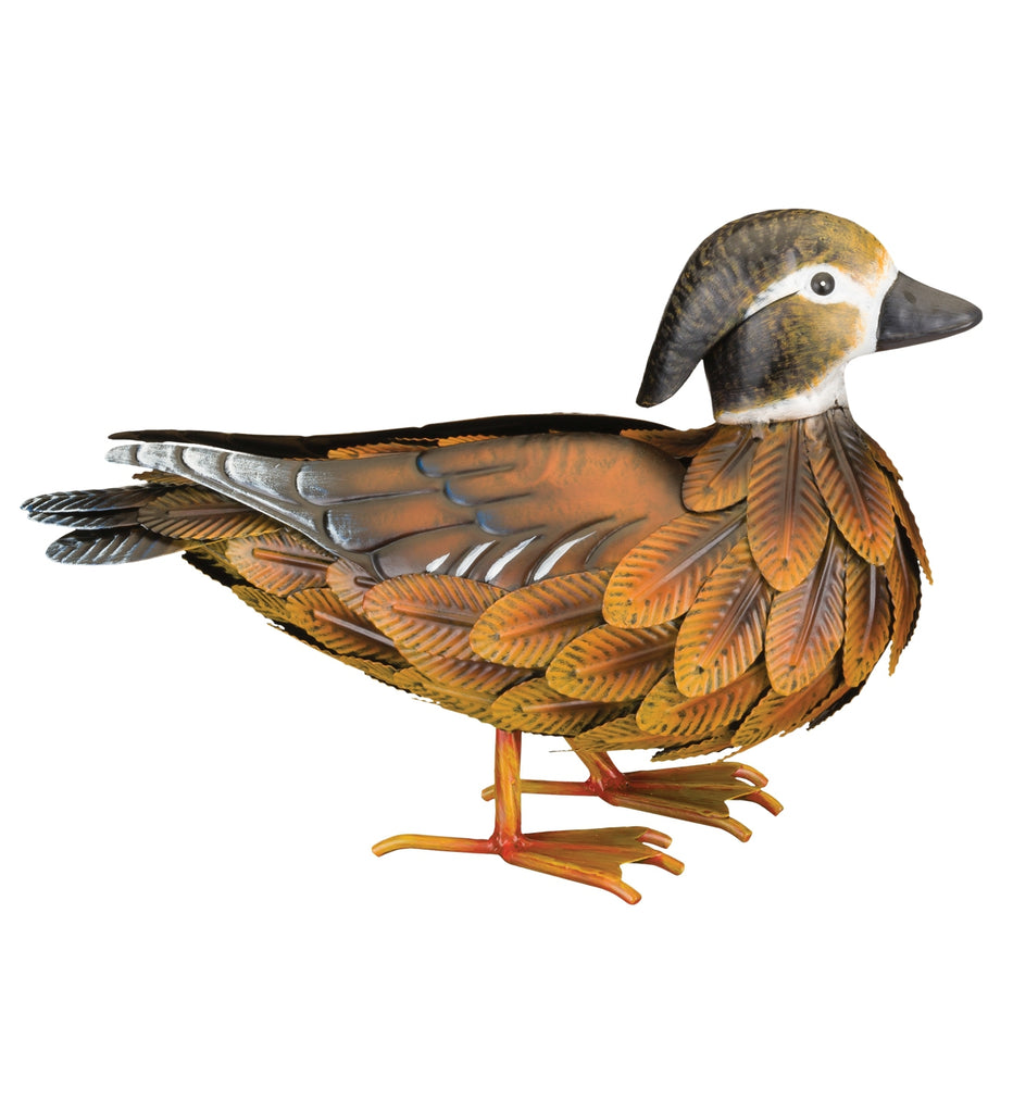 Garden Decor-Wood Duck Decor Female