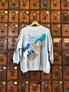 Vintage Hand Painted Disney Pullover- X-Large