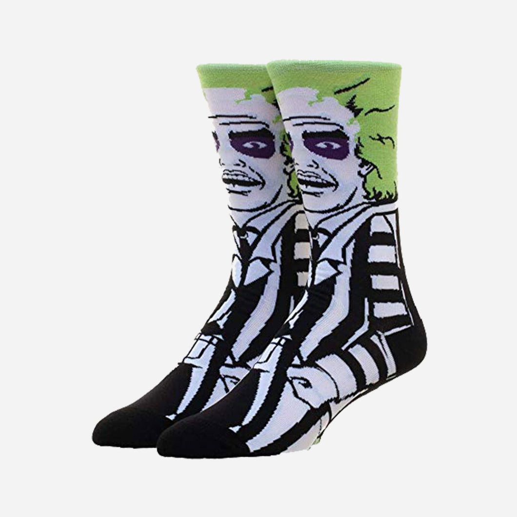 Beetlejuice Socks
