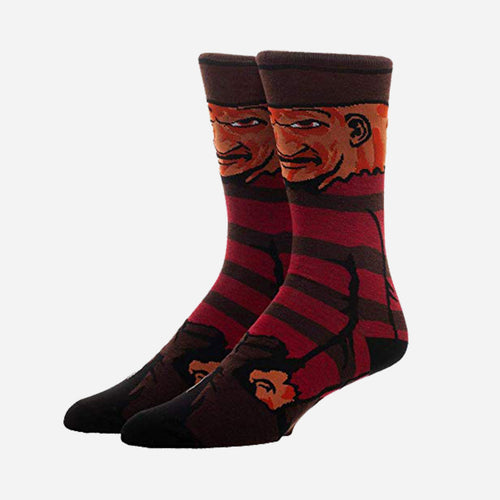 Freddy Krueger Scary Socks