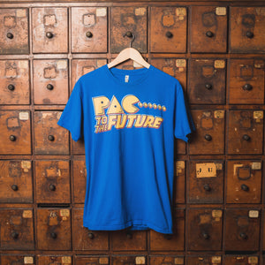 "Pac Man ""Pac to the Future"" Tee- Large"