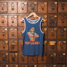 "He-Man ""Sup Ladies"" Ringer Tank"