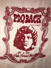 Vintage PDQ Bach 1973 Red Ringer Tee- Small