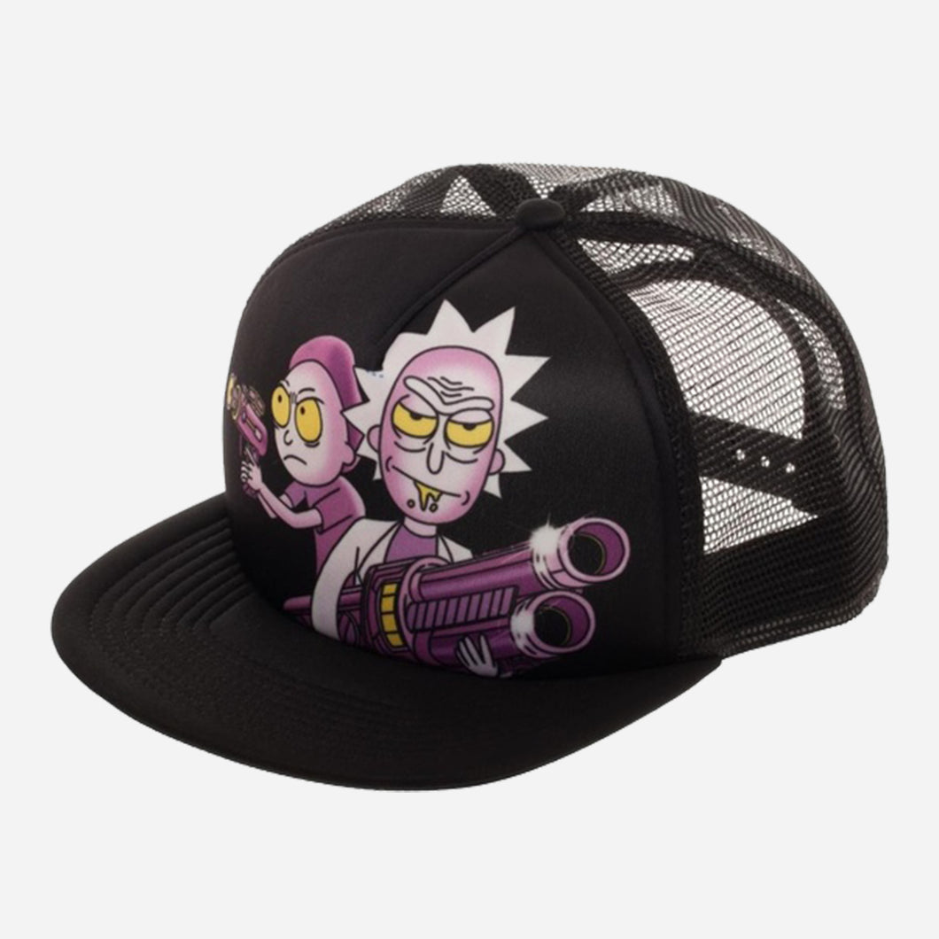 Rick and Morty Trucker Cap