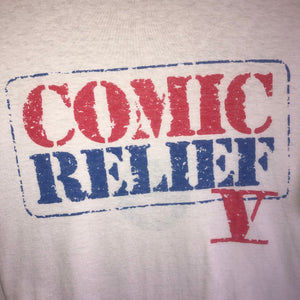 Vintage 1992 Comic Relief V Tee- Large