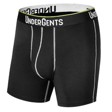 UnderGents Inspirato Boxer Brief. Antimicrobial micro modal destroys bacteria. Feel dry and stay odor free underneath. Best underwear for fertility. Ul,tra comfortable boxer brief underwear for men. 4.5 inch flyless or 6 inch horizontal fly. Comfort