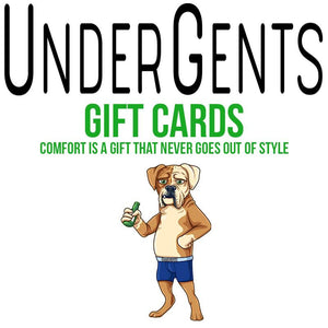 UnderGents Gift Card - Give Comfort