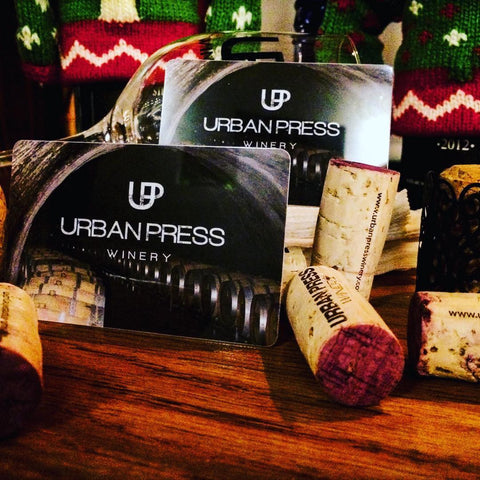 Gift Cards - Urban Press Winery