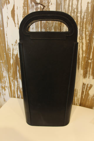 Double Leather Wine Carrier