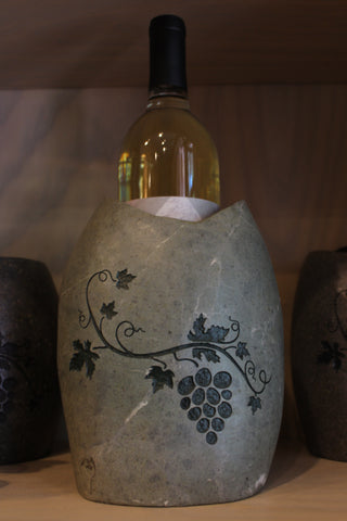 Stone River Rock Wine Holder