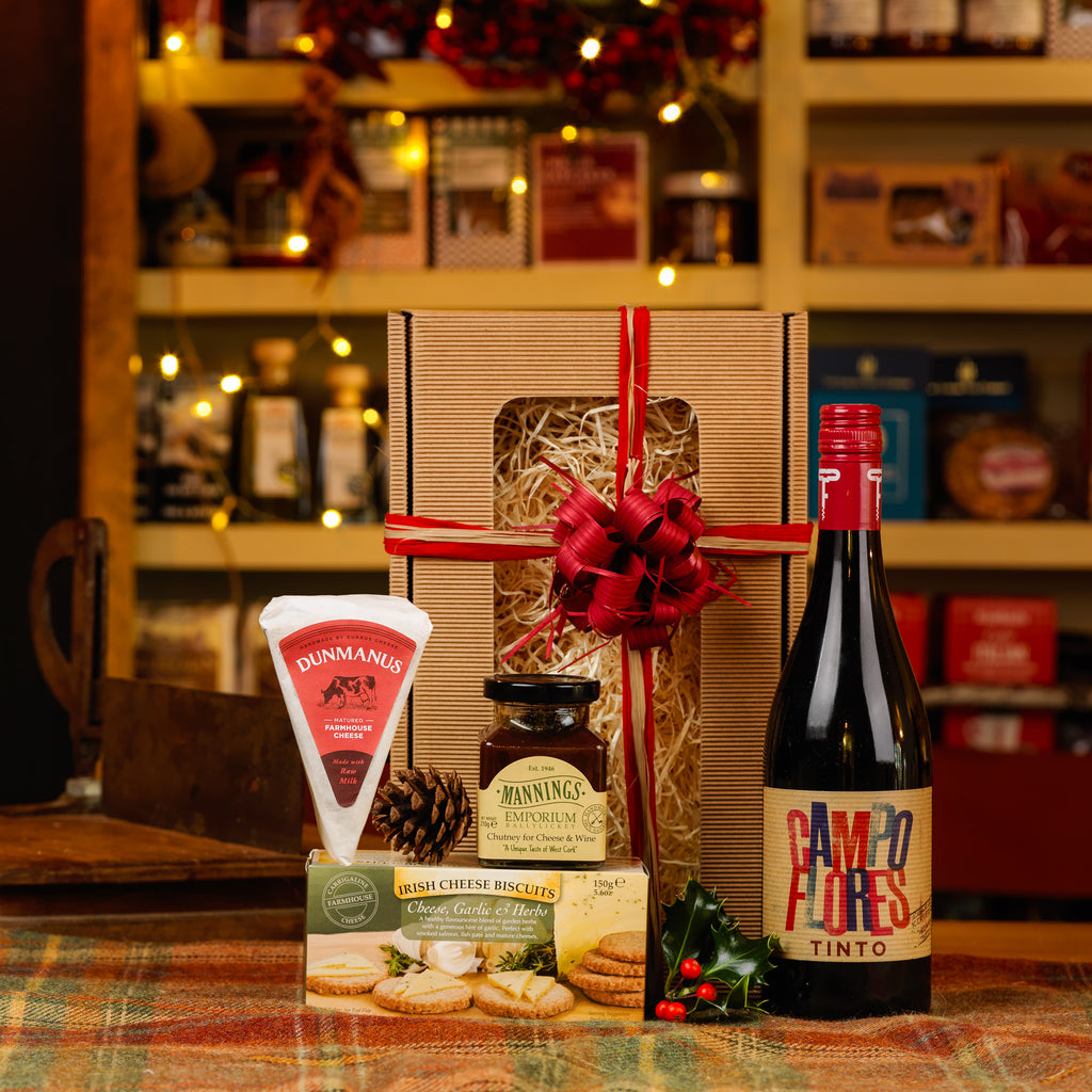 Cheese and Red Wine Gift Box