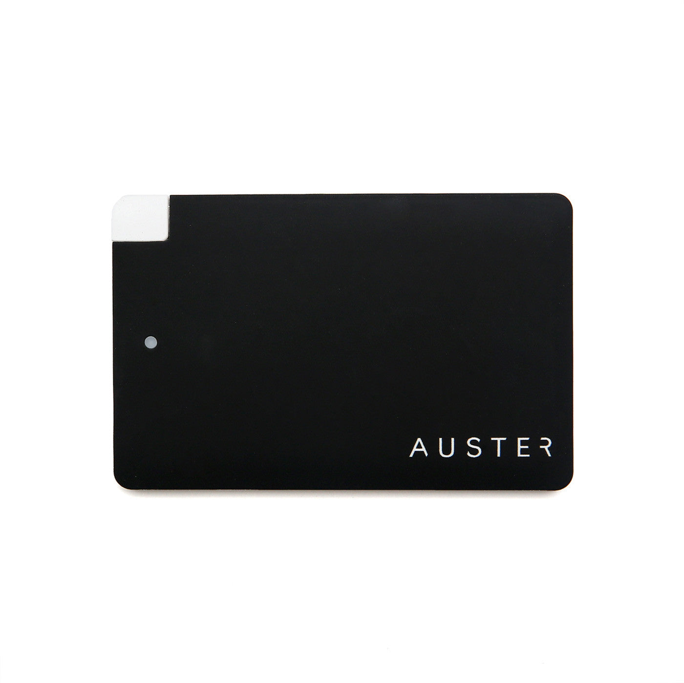 ONE AUSTER 2600 mAh POWERBANK – BLACK<br>(so you never run out of juice)