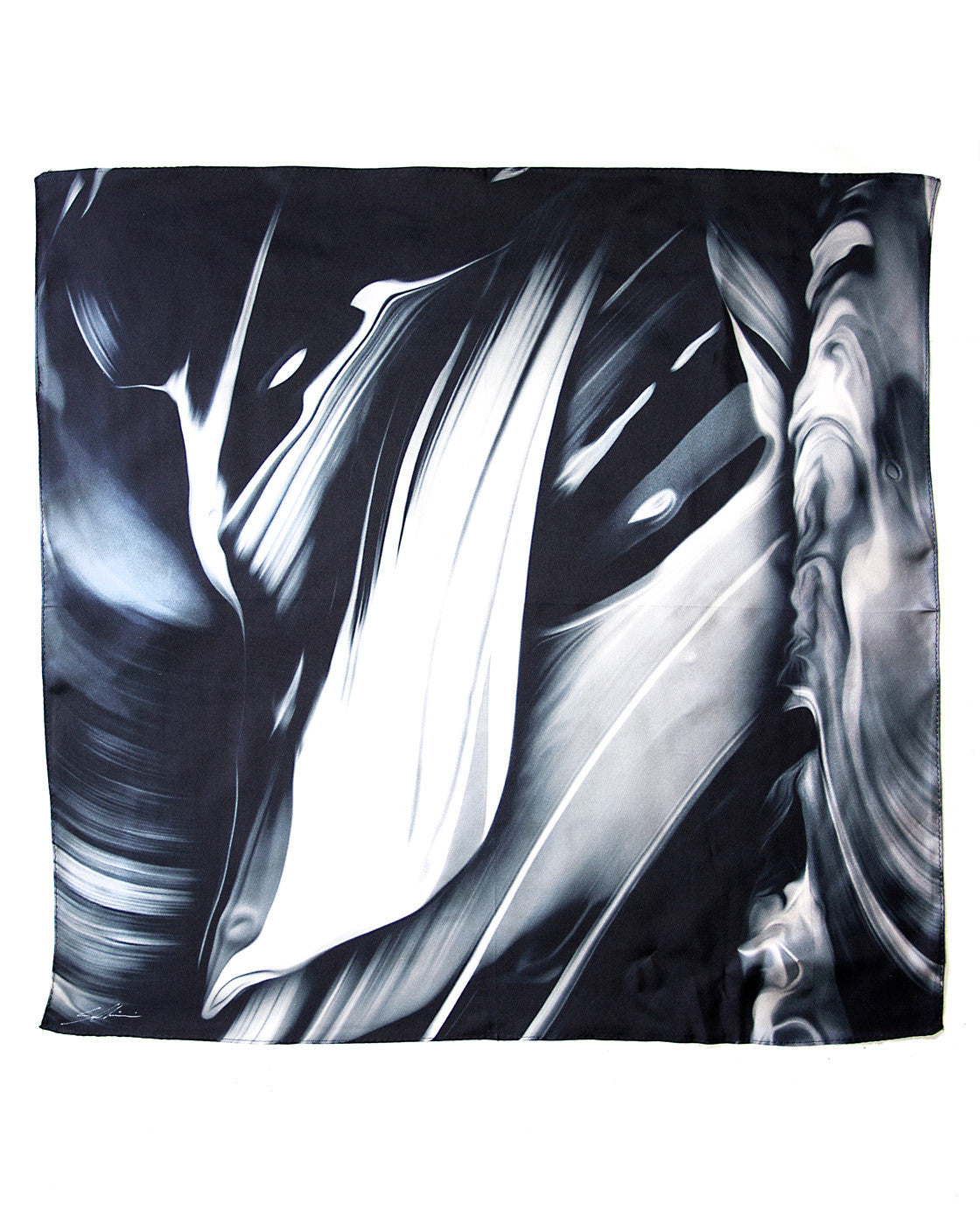 ONE CUSTOM 100% SILK SCARF<br>(Auster x Sam Chirnside)