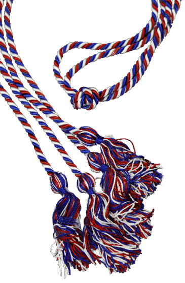 Intertwined Honor Cords