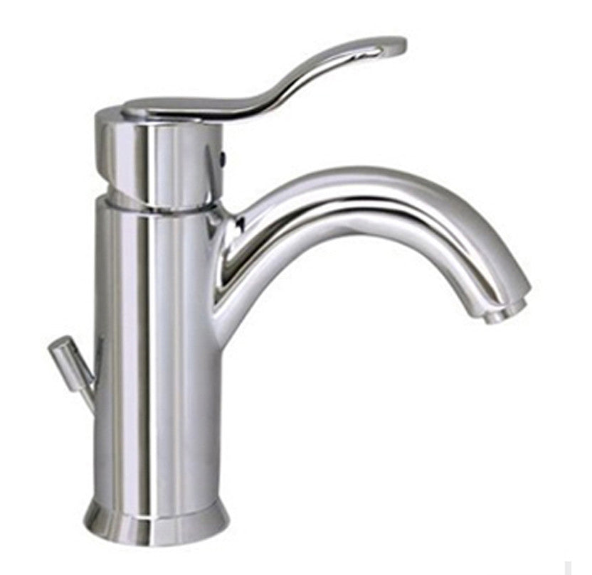 Galleryhaus single hole/single lever lavatory faucet with pop-up waste