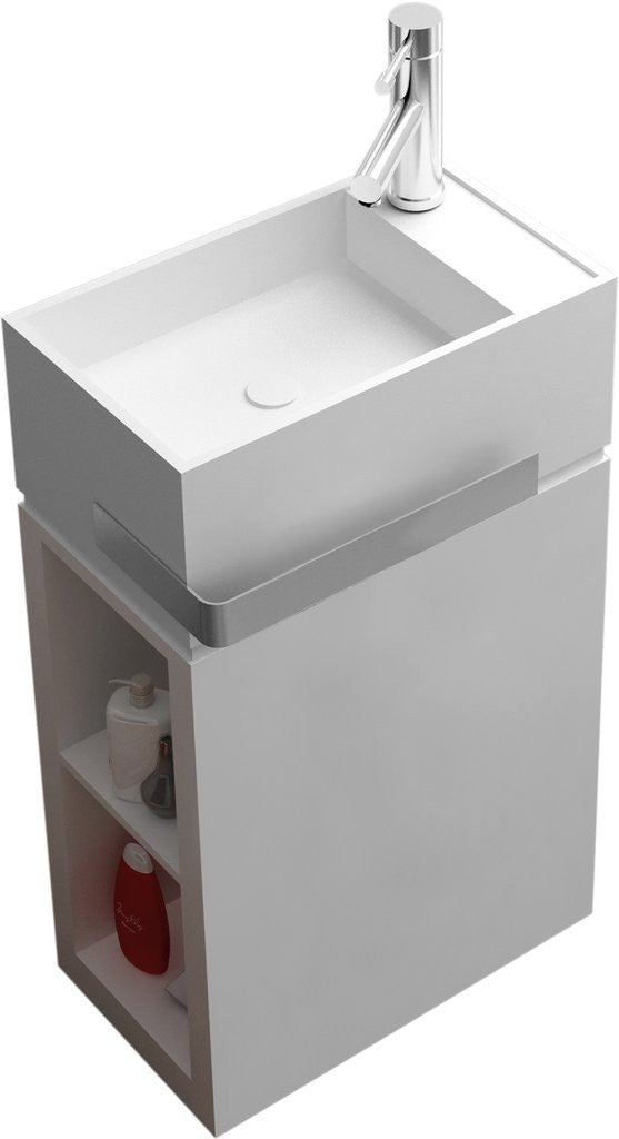 "Rectangular Freestanding Sink (20""x12"") - DW-182"