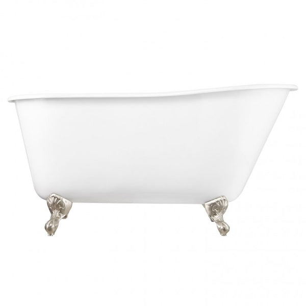 "53"" CARINE IRON SWEDISH SLIPPER TUB"
