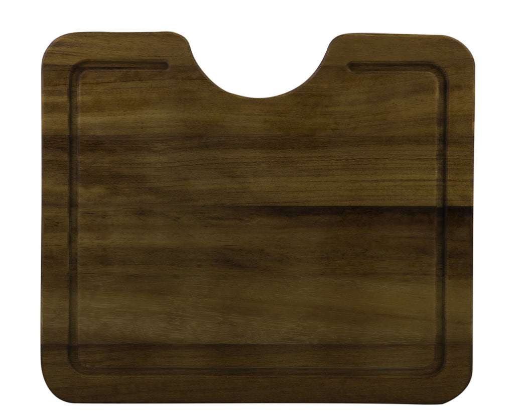 ALFI brand AB15WCB Rectangular Wood Cutting Board for AB3020DI, AB2420DI, AB3420DI