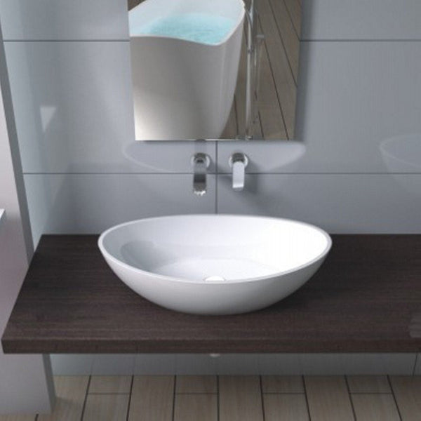 "Oval Countertop Sink (24""x13"") CW-105"