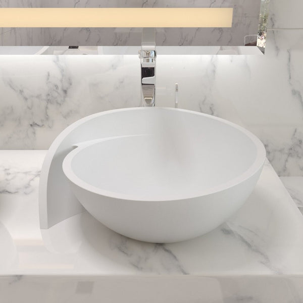 "Circle Countertop Sink (20""x18"") CW-109"