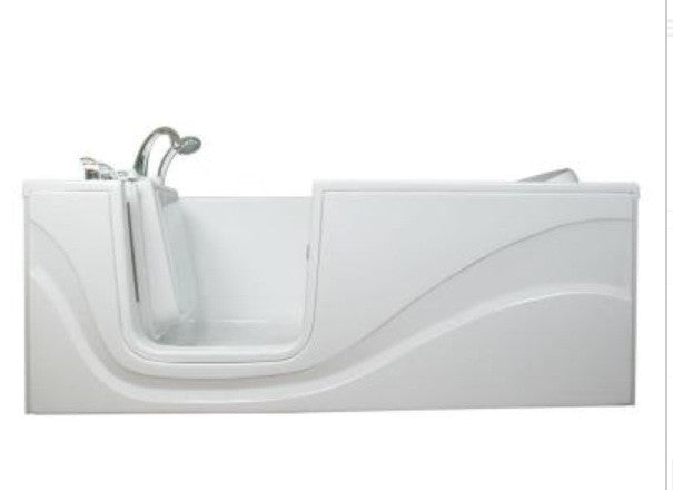 60x30x27 Walk-in Tub Available in Soaker, Whirlpool, Air, or Dual Jets