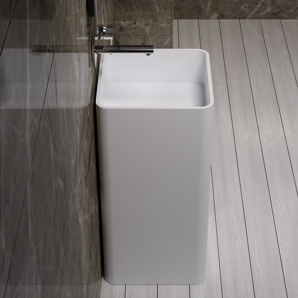 "Square Freestanding Sink (16""x16"") - DW-107"