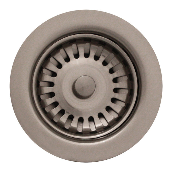 "3 1/2"" Basket strainer"