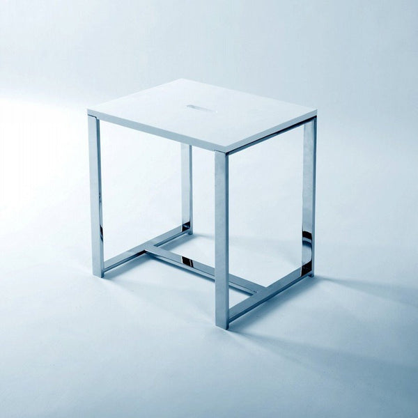 "Cubic Bath Stool (16""x12"") - S-105"