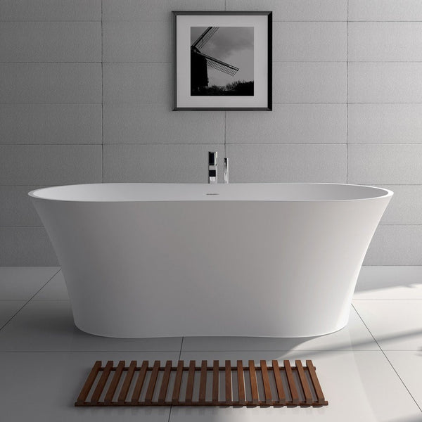 "Edged Freestanding Bathtub (64""x29"") - SW-101"