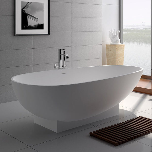 "Elipsed Freestanding Bathtub (71""x35"") - SW-109"
