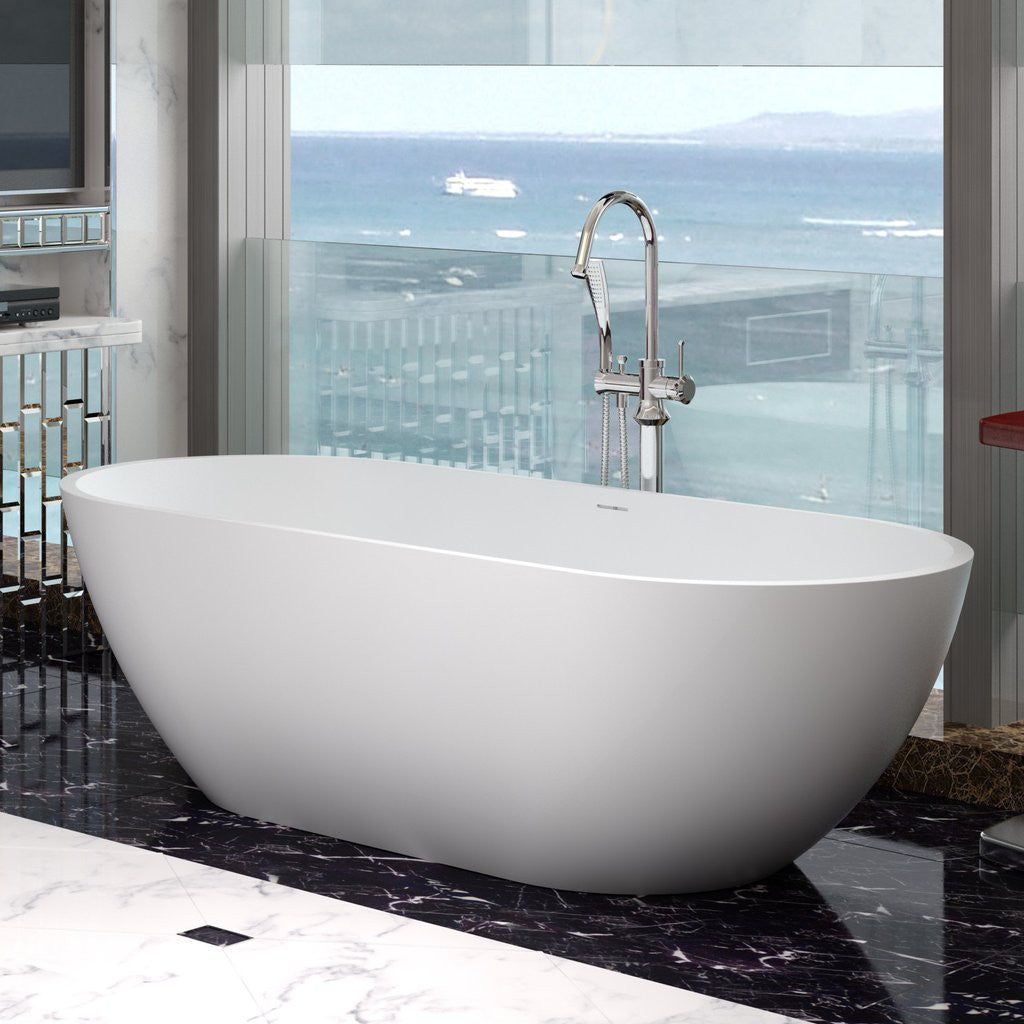 Oval Elipsed Freestanding Bathtub (3 sizes) - SW-110 – Tubs and Sinks