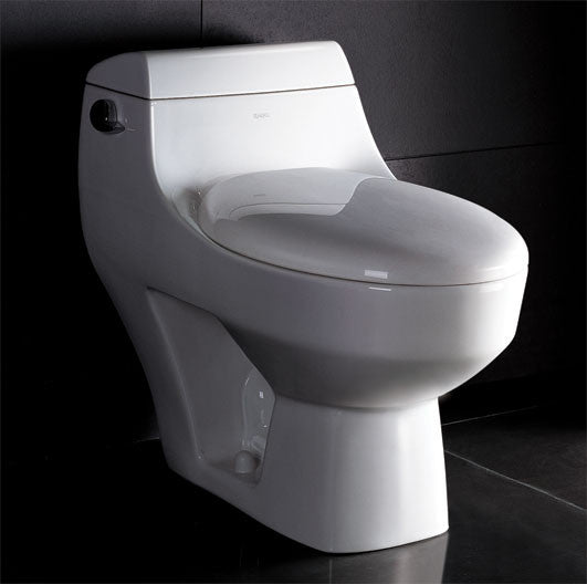 EAGO TB108 ONE PIECE HIGH EFFICIENCY LOW FLUSH ECO-FRIENDLY CERAMIC TOILET
