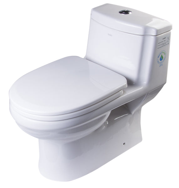 EAGO TB222 DUAL FLUSH ONE PIECE ECO-FRIENDLY HIGH EFFICIENCY LOW FLUSH CERAMIC TOILET
