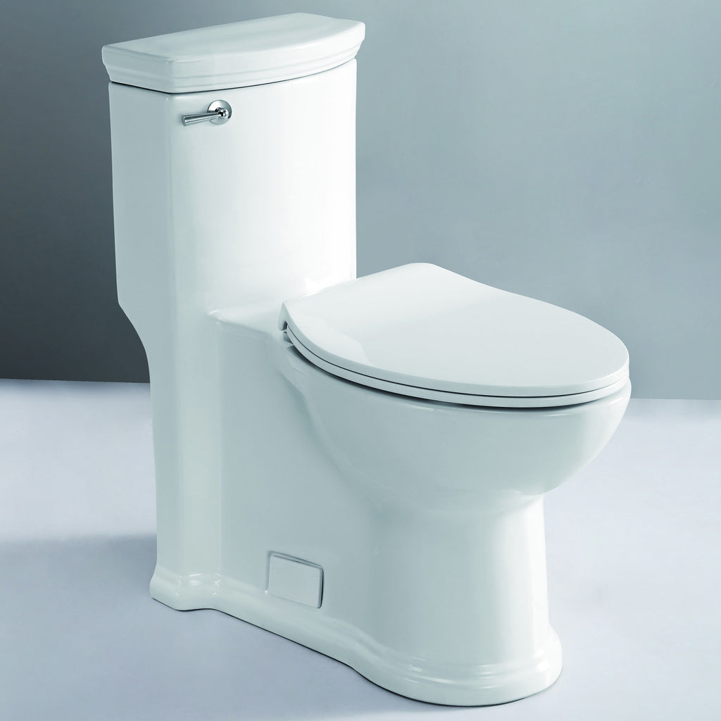 EAGO TB364 ADA Compliant One Piece Single Flush Toilet