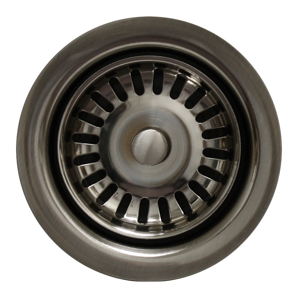 Waste disposer trim for deep fireclay sink applications