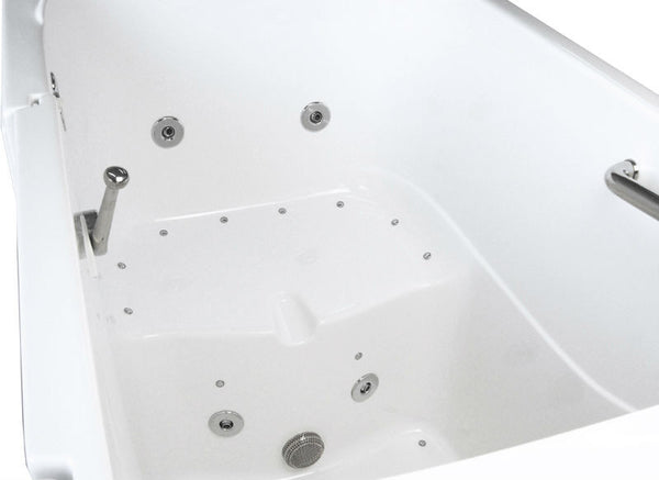 55X35X41 Walk-in Tub - available in Soaker, Whirlpool, Air, or Dual Jets