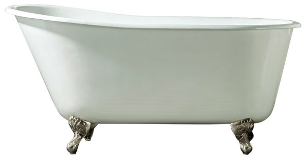 "Barclay Gareth | 53"" Cast Iron Slipper Tub"