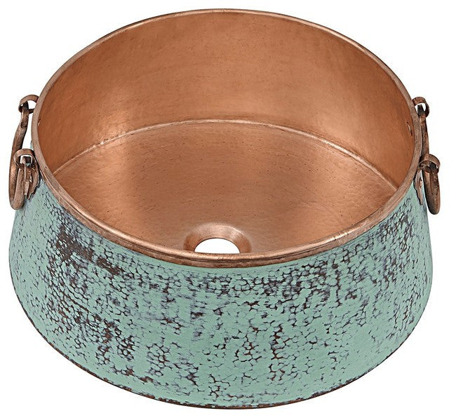 Noble Copper Vessel Sink, 16""