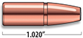 A-Frame Lever Action Rifle Bullets Cal. 30-30 | 170 gr