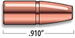 A-Frame Lever Action Rifle Bullets Cal. 30-30 | 150 gr
