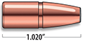 A-Frame Lever Action Rifle Bullets Cal. 348 | 200 gr