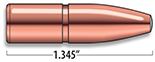 A-Frame Rifle Bullets Cal. 358 | 280 gr