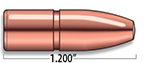 A-Frame Heavy Rifle Bullets Cal. 375 | 270 Gr