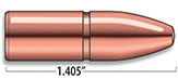 A-Frame Heavy Rifle Bullets Cal. 400 | 400 gr