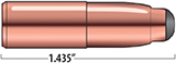 Break-Away Solids Rifle Bullets Cal. 404 | 400 gr