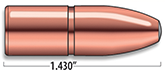 A-Frame Heavy Rifle Bullets Cal. 458 | 500 gr
