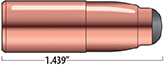 Break-Away Solids Rifle Bullets Cal. 505 | 570 gr