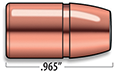 A-Frame Lever Action Rifle Bullets Cal. 50 | 450 gr